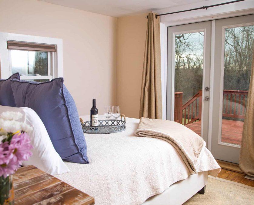 Blue Door Cottage Bedroom