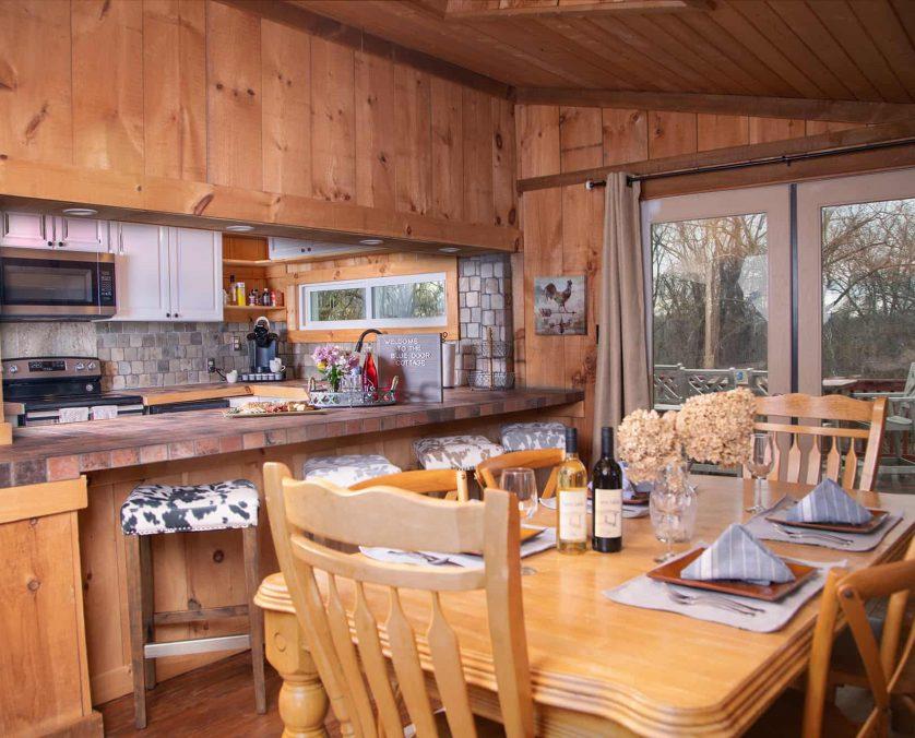 Blue Door Cottage Kitchen