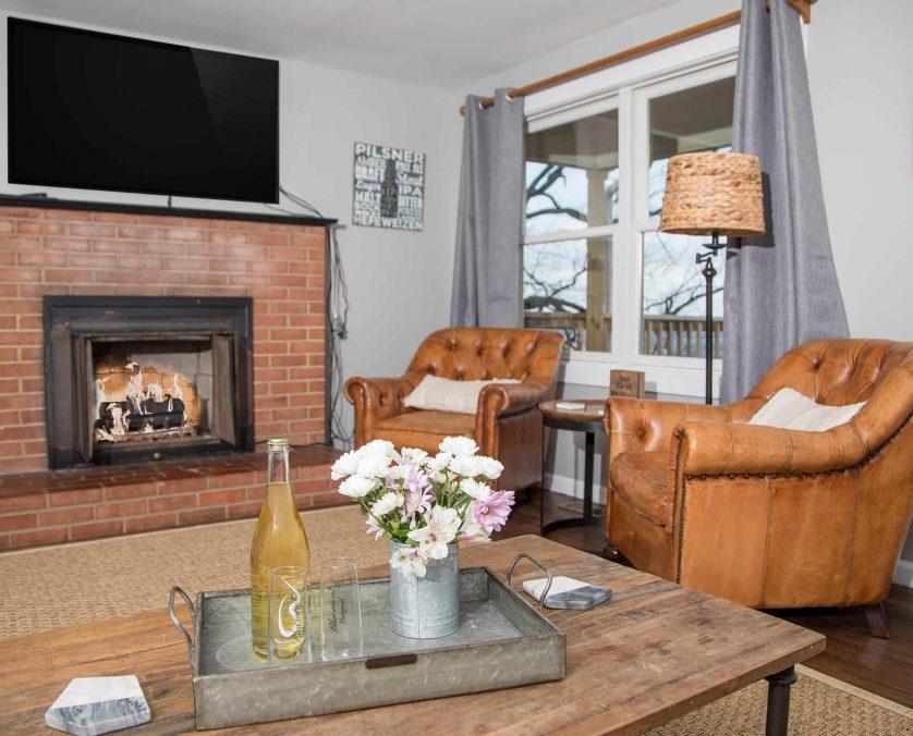Brewer's Cottage Living Room