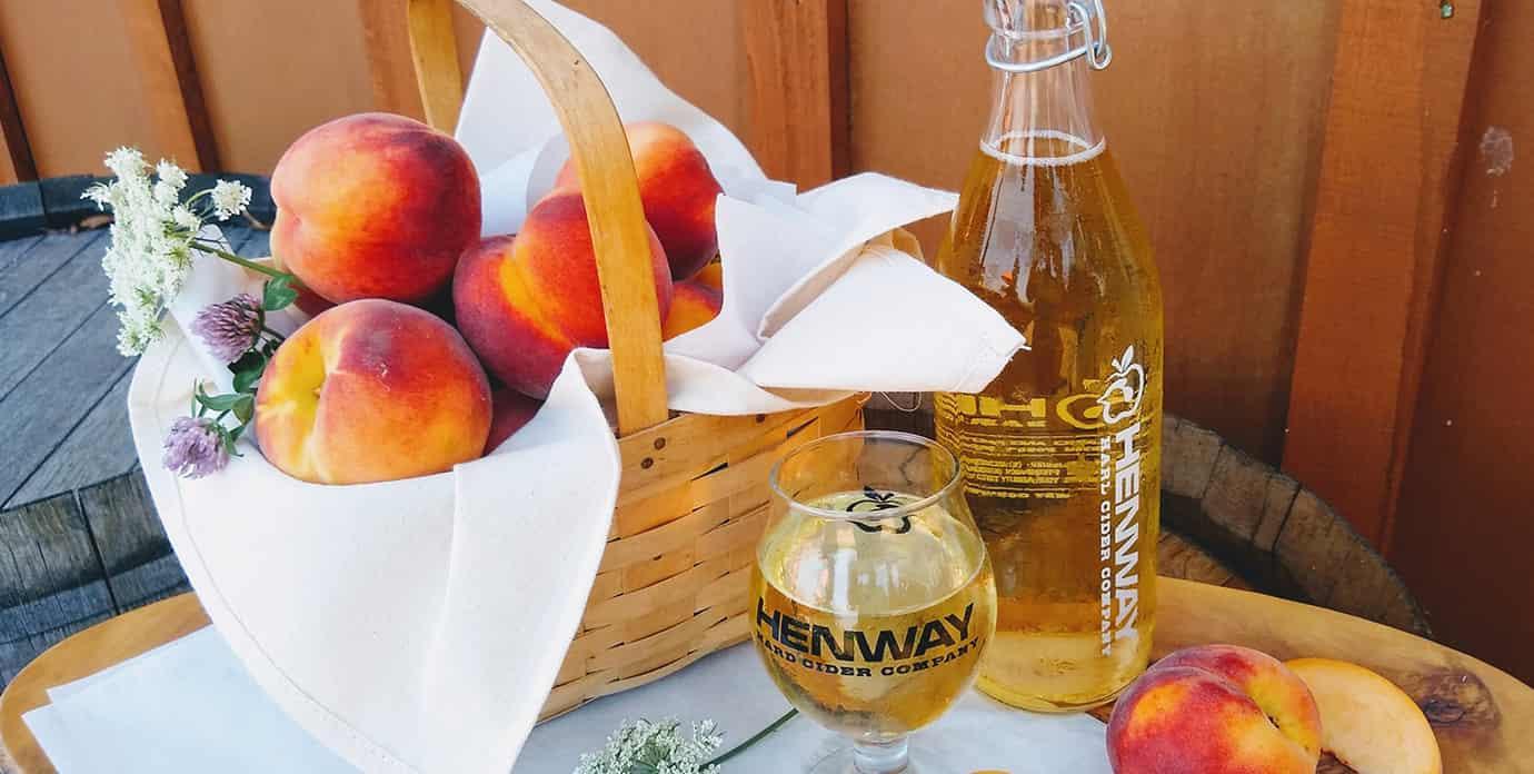 Henway Peach Hard Cider