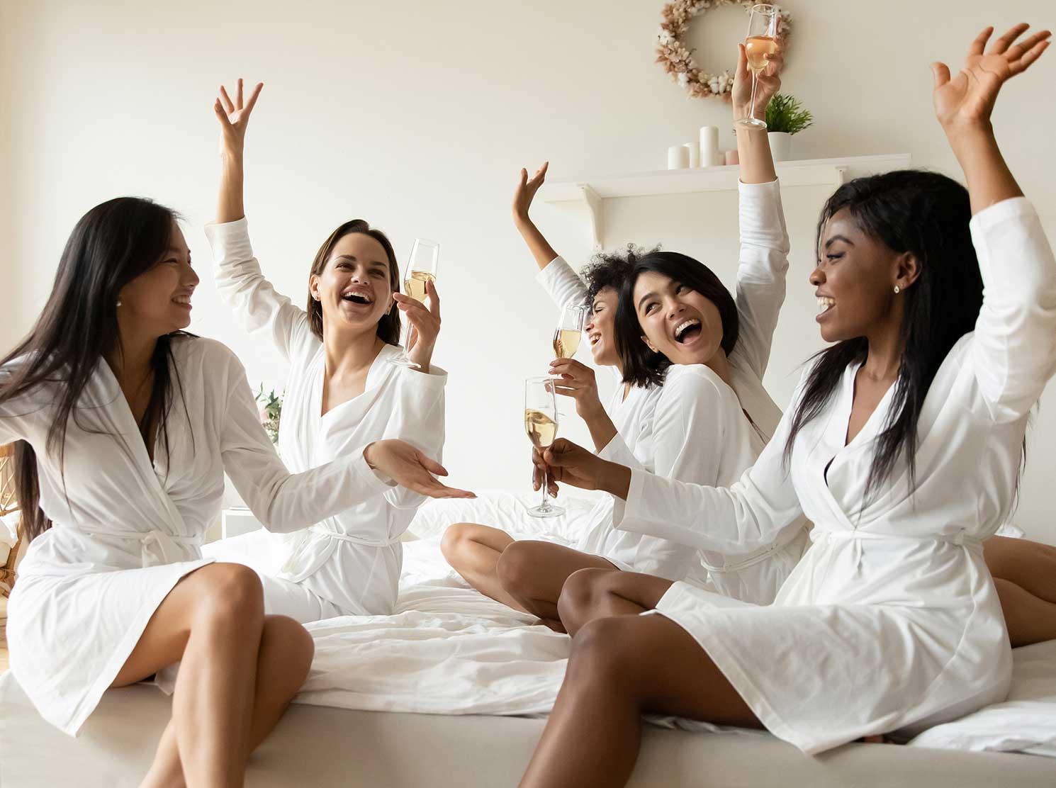 Women enjoying a girls getaway