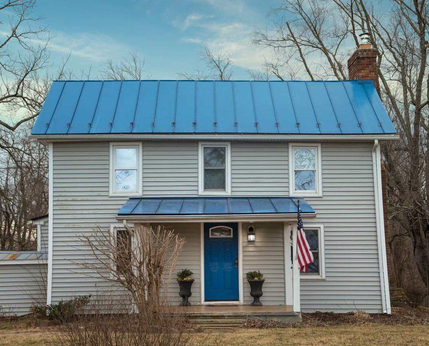 Blue Door Cottage Exterior